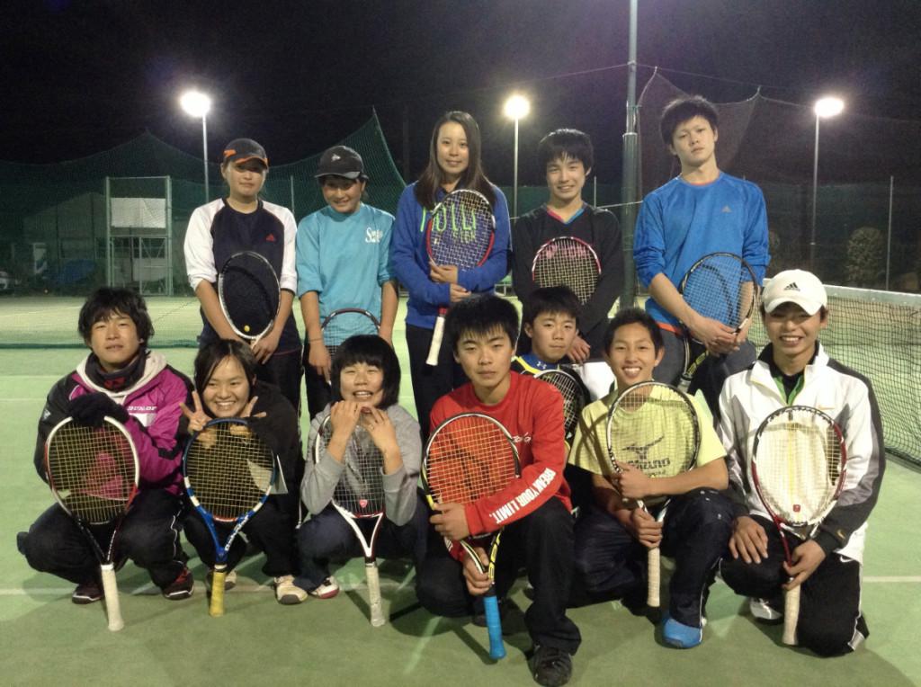 千村選手とジュニア2