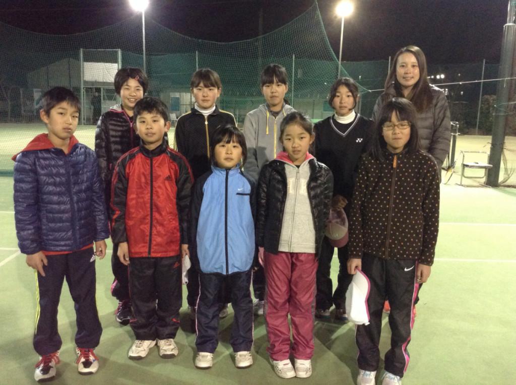 千村選手とジュニア1